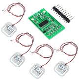 Original 4 unids DIY 50 kg de peso de la célula de carga corporal resistencia Sensor resistencia con HX711 AD módulo