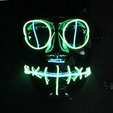 Halloween Mascara Flash El Alambre Led Brillando Belleza Fiesta de Navidad Mascara Venta caliente