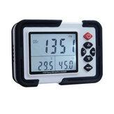 USB dioxyde de carbone CO2 données enregistreur de la température de l'air enregistreur d'humidité compteur LCD
