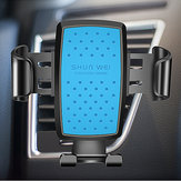 Car Gravity Linkage Phone Holder Air Vent 360 Degrees Rotation Adjustable Gear Holder Stand