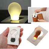 IPRee® Outdoor EDC LED Card Light Pocket Lamp Purse Wallet Emergency Light