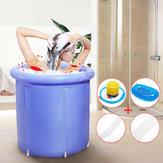 VascadabagnogonfiabileinPVC portatile in plastica pieghevole con vasca ad acqua per ambienti spa Massaggio