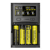 Nitecore SC4 LCD Affichage USB Chargeur  Rapide Intelligent pour Batterie Li-ion/IMR/LiFePO4/Ni-MH