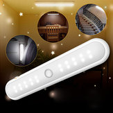 Portable Wireless 20 LED Cabinet Night Light Motion PIR Capteur Placard Sous La Lampe