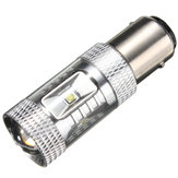 White 30W 1157 BAY15D LED High Power Turn Signal Light Daytime Running Bulb