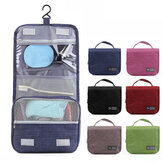 Honana HN-TB056 Portable Cosmetic Storage Bag Travel Toilet Hanging Bag  Makeup Organizer Case Pouch