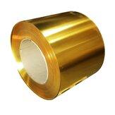 Lámina de lámina delgada de metal de latón Placa 0.02 x 100 x 1000 mm