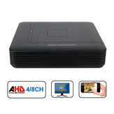 Hiseeu 4 8 Channel 720P 960P 1080P DVR AHD HVR NVR System P2P H.264 Security Home Camera Video Recorder