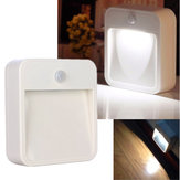 Battery Operated PIR Motion Sensor LED Wireless Night Light Security Wall Lamp