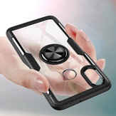 Bakeey Magnetic Car Holder Finger Ring Transparent Hard PC Protective Case For Xiaomi Mi8 Mi 8