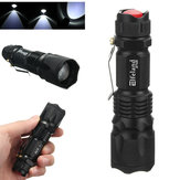 Elfeland XPE 600LM 3Modes Zoomable Mini EDC LED Flashlight AA/14500