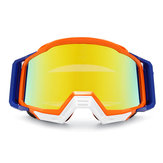 Original Rojo y naranja Moto Anti-UV Dust Racing Gafas Gafas Motocross ATV Dirt Bike Off Road