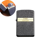 Original ZORRO Z8753A Pure Copper EDC Windproof Kerosene Lighter Outdoor Portable Cigarette Fire Lighter