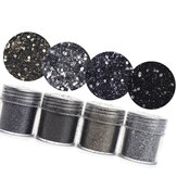 10ml 4 Colors Black Nail Glitter Powder Sequins Halloween