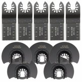 10pcs 35mm 88mm Saw Blades Oscillating Multitool for Fein Poerter Cable Oscillating Tools