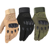 Men Outdoor Tactical Gloves Microfiber Military Antiskid Hunting Knuckle Full Finger Gloves