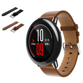 20mm Replacement Leather Watch Band Bracelet Strap For Xiaomi Huami Amazfit