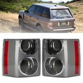 Original Coche Freno trasero del conjunto de luces traseras Lámpara Negro + Negro Izquierda / Derecha para Range Rover Vogue L322 2002-2009