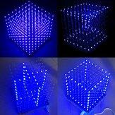 Geekcreit® 8x8x8 Kit DIY de LED Cube 3D Lumière Bleu Carré LED Electronic