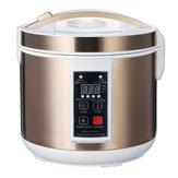 Fabricant intelligent de yaourt de fermenteur de fermenteur d'ail noir de 6L 90W cuiseur intelligent de DIY 110V / 220V
