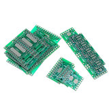 35Pcs 7 Values Each 5 PCB Board Kit SMD Turn To DIP SOP MSOP SSOP TSSOP SOT23 8 10 14 16 20 24 28 SMT To DIP
