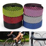 BIKIGHT Cinta de manillar Bicicleta Bicicleta de carretera Deportes Cork Grip Wrap Ribbon Tape Bar Plug
