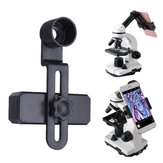 Microscope Lens Adapter Mobile Phone Smartphone Clip Camera Adaptor Connect Tripod