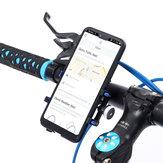 Original Aleación de aluminio Bicicleta Moto Soporte del teléfono del manillar para el teléfono inteligente iPhone Samsung Huawei Xiaomi