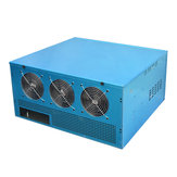Bitcoin Mining Rig Open Air Frame Graphics Case for 6/8GPU Graphics Card