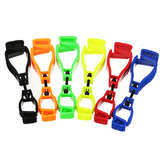 Plastic Working Glove Clip Plastic AT-1 Type Work Clamp Safety Work Gloves Clips Guard