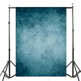 Retro Dark Blue Theme Vinyl Photography Background Backdrop for Studio Photo 7x5ft