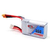 Gaoneng GNB 11.1V 550mAh 80/160C 3S Lipo Battery XT30 Plug For Eachine Lizard95 FPV Racer