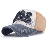 Mens Washed Denim Baseball Cap Outdoor Sport Sunshade Hats