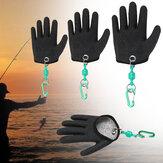 1штРыбалкаБезопасностьперчатокМагнит Выпуск Брелок Рыбалка Защита правой руки Перчатки
