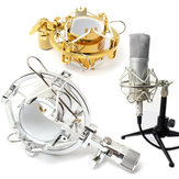 Microphone Shock Mount Cradle Holder Clip Stand for Recording Studio