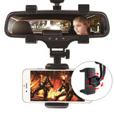 Bakeey™ Upgraded 360 Degree Rotation Fixed Rearview Mirror Car Mount Holder for Mobile Phone