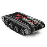 3V-7V DIY Light Shock Absorbed Smart Tank Robot Chassis Car Kit With 130 Motor For Arduino SCM