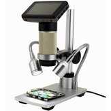 Andonstar ADSM201 HDMI 1080P Full HD USB Microscope Magnifier Long Object Distance Microscope Double Output Soldering Tool Phone Watch Repair