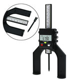 Self Standing Trend 0-80mm Woodworking Digital Depth Gauge with Magnetic Feet