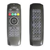 Original G7Aireretroiluminadoblanco2.4Ginalámbrico ratón Teclado para Smart TV / Android Caja / Xbox / Laptop / Proyector