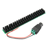 66pcs Black IR LEDs 940nm Infrared Illuminator IR LED Board with F5mm CCTV 60 Degree Invisible