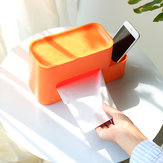 Xiaomi ZHIZAO Tissue Box Container Integrated Multifunctional Storage Rack Paper Holder