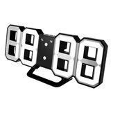 Digoo DC-K3 Multi-Función 3D Grande LED Reloj de Muro Digital Despertador con Función Snooze