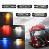 12V-24V10LEIDENEAutoZijtekenlichtenIndicator Signaalstroboscooplamp Universeel voor Vrachtwagenaanhangwagen