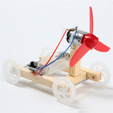 DIY Technology Invention Single-wing Wind Car Assembly Model Kit