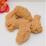 1PCS Artificial Fake Fried Chicken Wing Learning PVC Props Home Shop Decor