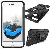 Kickstand resistente a prueba de choques Caso Para iPhone 7 Plus/8 Plus