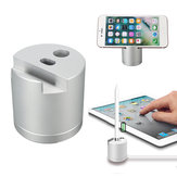 Original 2 In 1 Aluminum Charging Dock Stand Phone Holder For Apple Pencil/Smart Phone/Tablet PC
