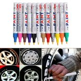 Marcador de Pintura Permanente de 12 Colores de Moda para el Neumático Tinta de Marcado al Aire Libre