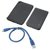 Boîtier de disque dur externe avec disque dur externe SSD SATA 2.5inch USB 3.0 avec sac de rangement